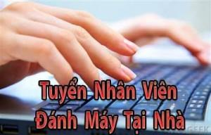 tuyen nhan vien danh may online