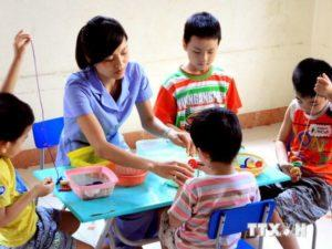 trường dạy tư ky, tăng động tai tphcm